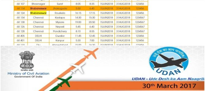 Flights to Rourkela Jharsuguda from Bhubaneswar all set from June 15, schedule available on Air Odisha website