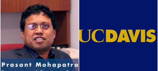 NIT Rourkela Alumni Prasant Mohapatra selected as Vice Chancellor for Reserch for California based UC Davis University