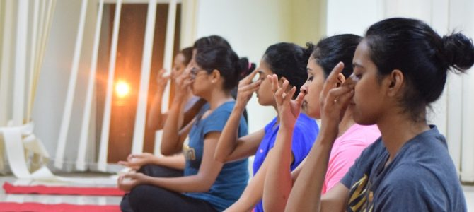 International Yoga Day celebrated at Xavier University Bhubaneswar