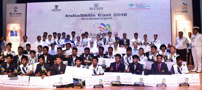 Odisha wins in 12 skill trades out of 24 at IndiaSkills Regional Competition – Eastern Chapter