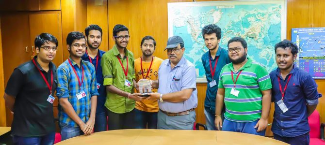 Awesome to see 11 students from VSSUT Burla Engineering college selected for ISRO Ahmedabad internship