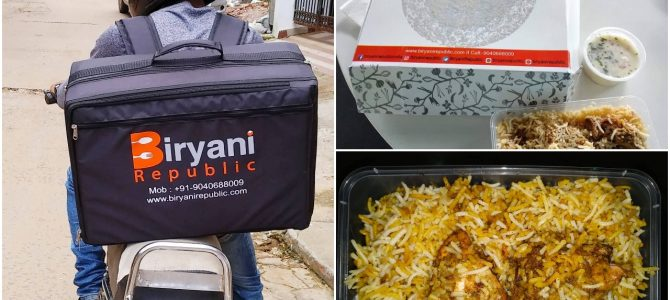 Introducing Biryani Republic whose motto is to bring traditional Biriyani back to the food choice of people who of late have abstained from not having it due to the food being oily, spicy or over cooked
