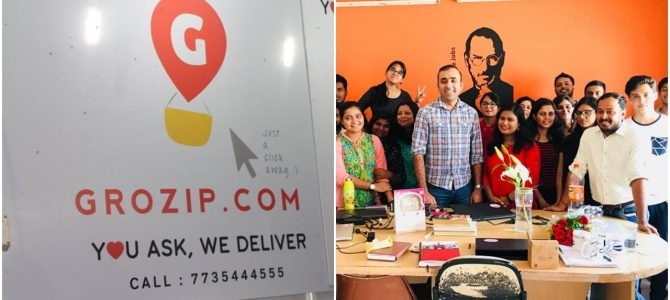 Bhubaneswar based Startup Grozip selected for eFounders Fellowship : to get mentored by Jack Ma, Founder of Alibaba and the leadership team of Alibaba.