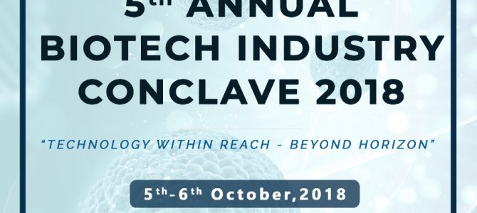 KIIT School of Biotechnology is all set to host the 5th consecutive edition of the prestigious Biotech Industry Conclave for the year 2018