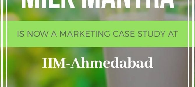 After Stanford School of Business in USA, now IIM Ahmedabad adds case study for Milk Mantra of Odisha