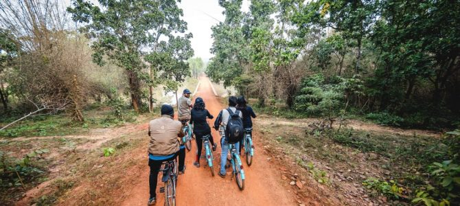 First Chandaka Cycle Trails starts from Godibari a programme under Bhubaneswar Nature Walk