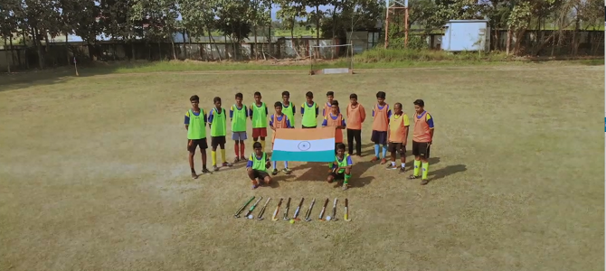 First Look (Part-2) : The Mountain Hockey- Another trailer for upcoming documentary on how tribals in state celebrate hockey