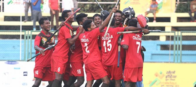 Odisha the Hockey powerhouse of India is national champion now in U21 mens hockey defeated Haryana to win gold