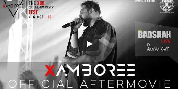 A beautiful After movie from first annual cultural-management fest, Xamboree of Xavier University, Bhubaneswar check it out