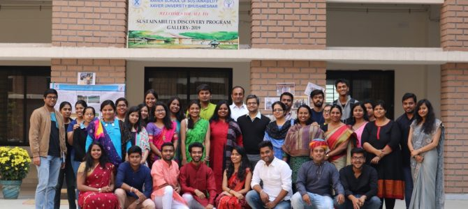 Xavier School of Sustainability (XSoS) organized its annual Sustainability Discovery Programme (SDP)