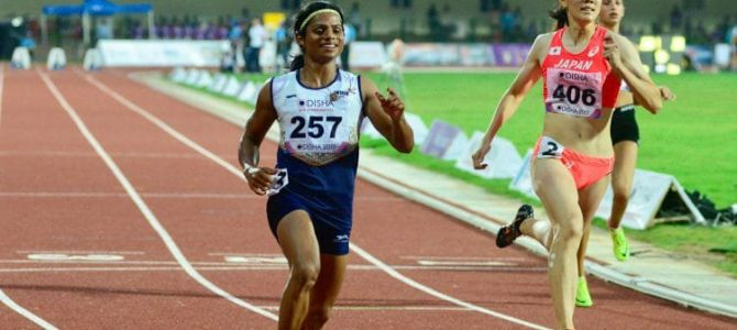 India's fastest from Odisha Dutee Chand breaks her own national record and qualifies for 100m final in Asian Athletics Championship 2019 at Doha