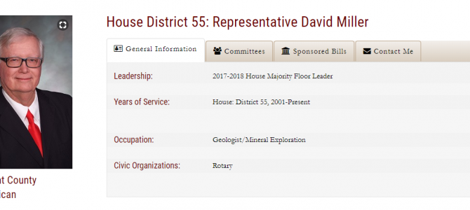 Will you be able to help Wyoming US House of Representative David Miller find his old Bhubaneswar friends