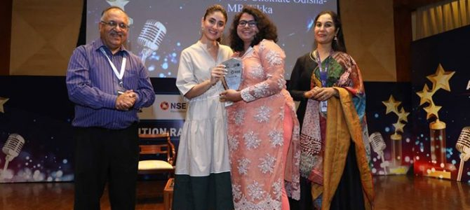 Radio Choklate 104 FM, a leading FM station in Odisha, was awarded at the third edition of UNICEF Radio4Child Awards in 3 categories