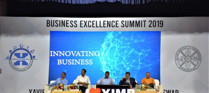 Xavier Institute of Management Bhubaneswar organized the 2nd edition of Business Excellence Summit on the theme Innovating Business