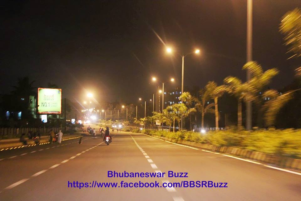 bhubaneswar in night