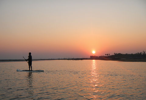 chilika surfing