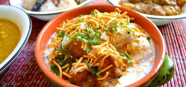 Odia Food: Dahi Bara Aloo Dum (Recipe from blog The Turmeric Kitchen)