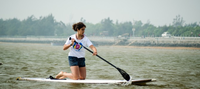 SUP workshop at Ramchandi, countdown to India Surf Festival 2015