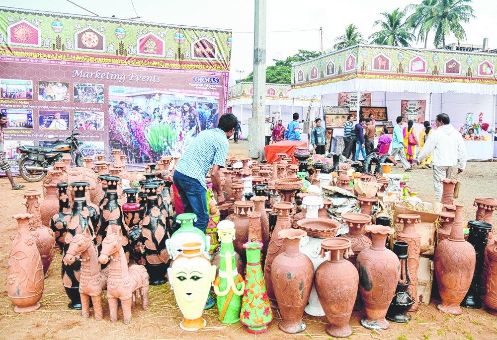 Handicrafts Fair In Bhubaneswar Sisir Saras To Promote Rural