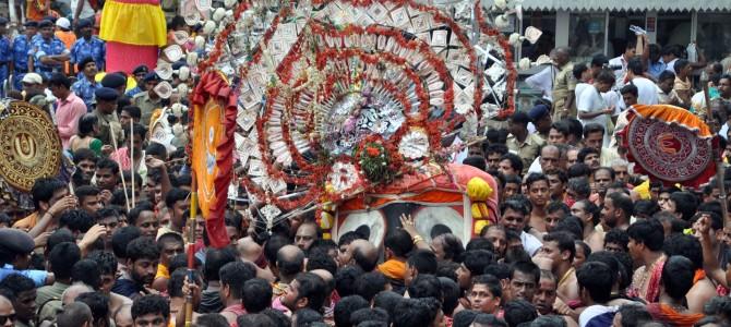 A nice blog on the Eve of Jagannath Ratha Jatra by Arun Dash
