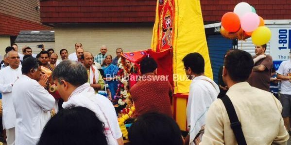 Jagannath Rath Yatra held in Plainfield, New Jersey, USA – by Soumya Mohapatra