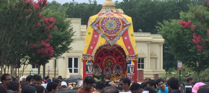 Jagannath Rath Yatra 2015 : in Richmond Virginia USA – by Badri Mohanty