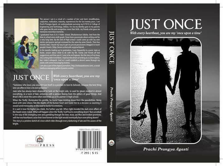 just once odia author prachi