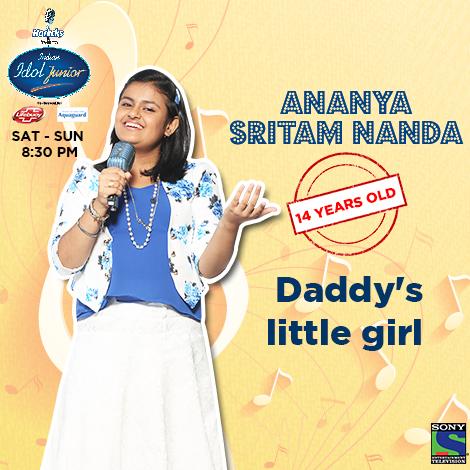Ananya Sritam Nanda of Bhubaneswar wins Indian Idol Junior