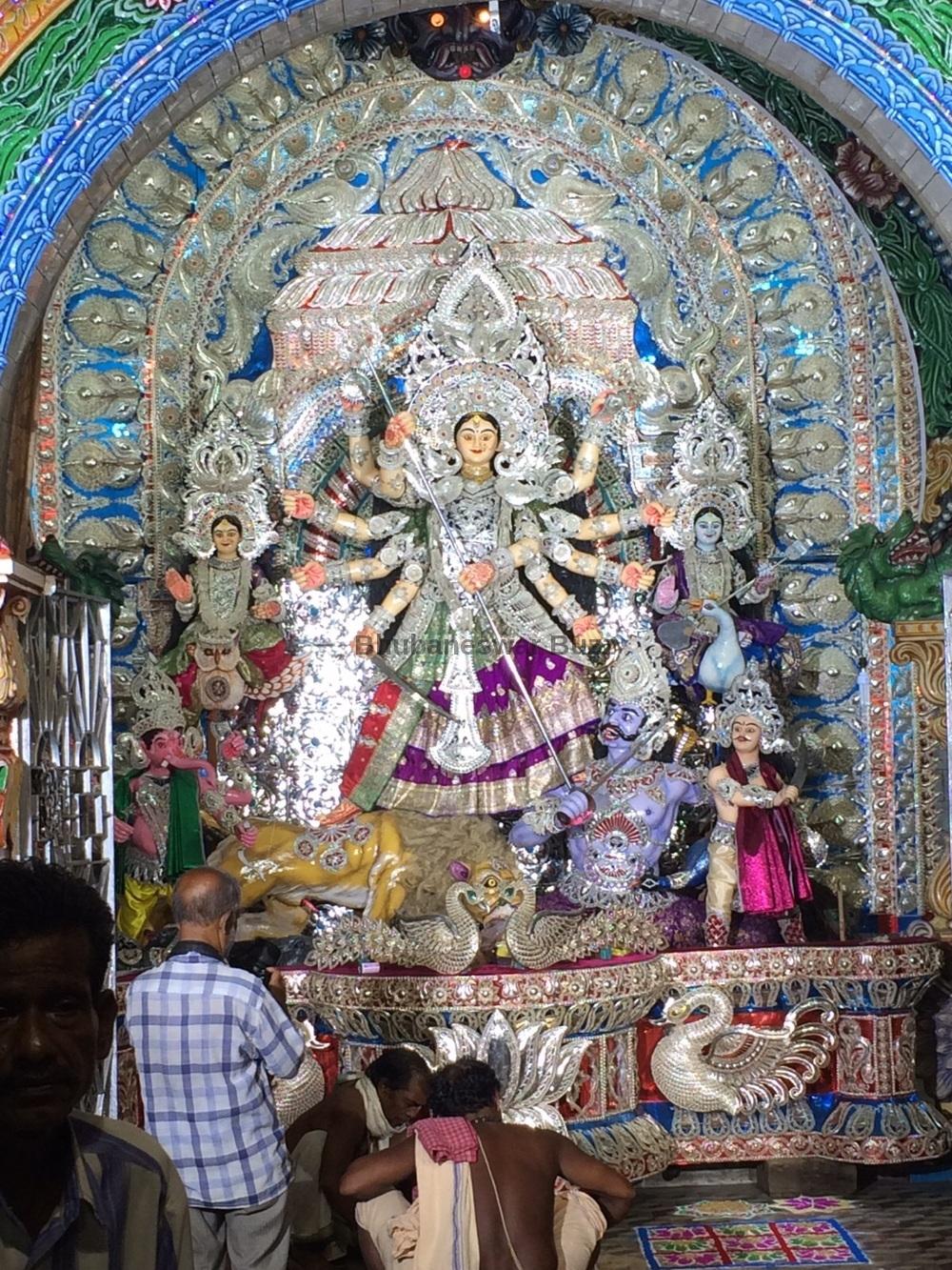 9 Awesome Silver Filigree Aka Chandi Medha Durga Puja