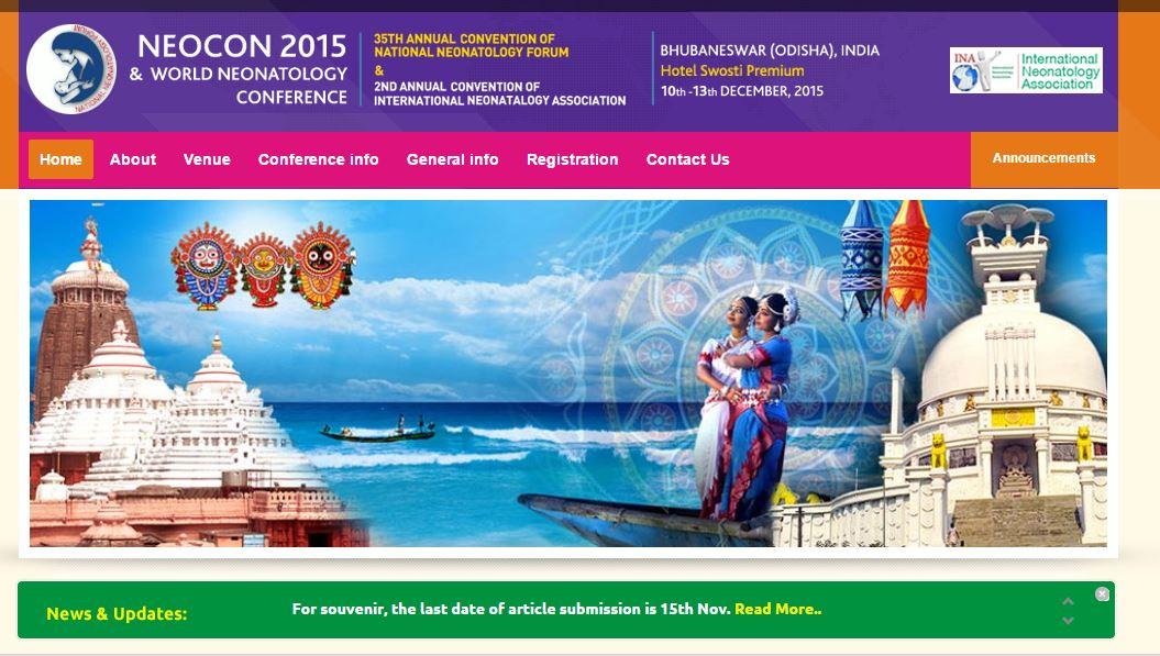 Neonatal conference bhubaneswar buzz