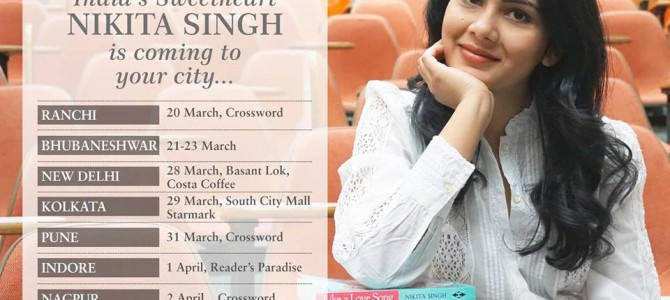 Nikita Singh Author of many bestsellers coming to Bhubaneswar for her new book launch