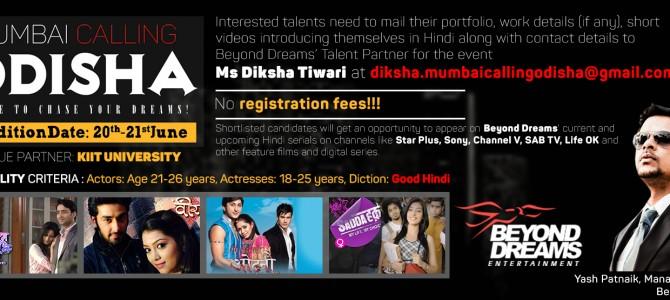Mumbai based Odia Producer organizing talent hunt for Odisha Acting Hopefuls in TV Shows
