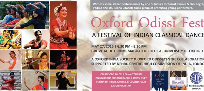 Oxford University London all set to have Odissi Dance Festival after course on Odissi