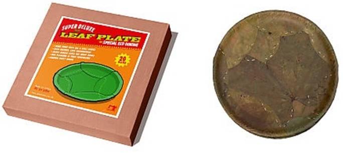 Saal leaf plates odisha goes to germany