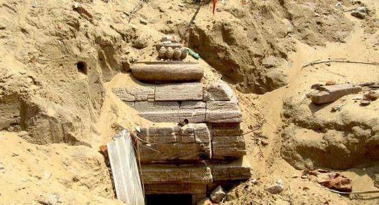 8th Century Parvati temple found buried in Odisha near Rushikulya in Ganjam