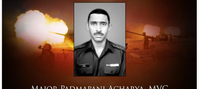 Remembering Major Padmapani Acharya of Odisha on this Kargil Vijay Diwas