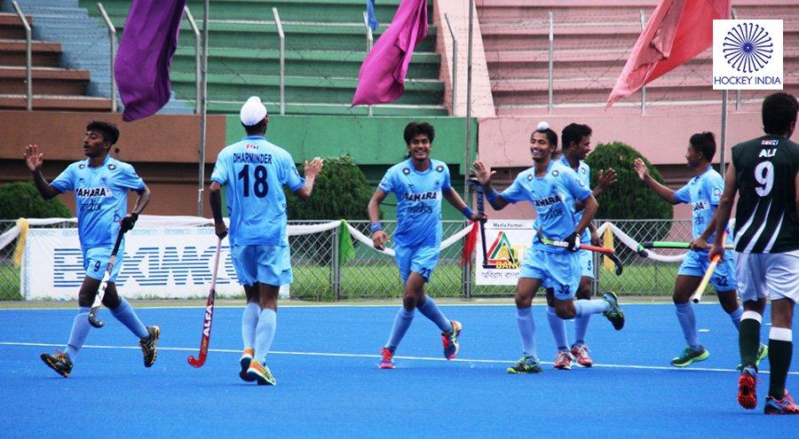 India U18 hockey team