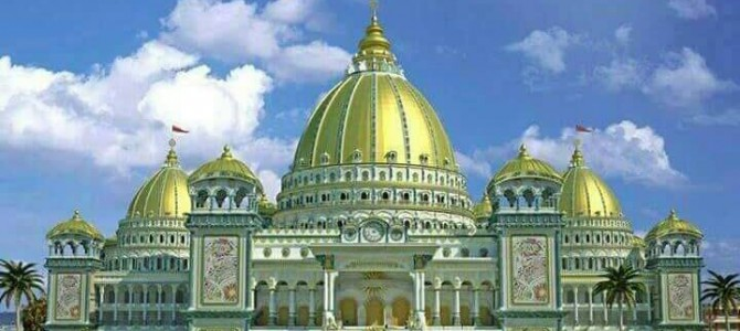 Jharpada Durga Puja Committee plans Maya Mahal this year, they did Madrid Palace last year