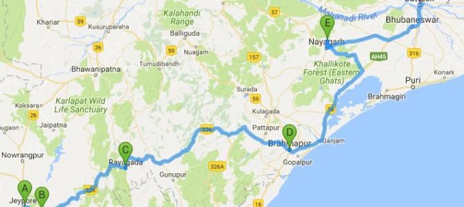 #OdishaExpress : Virtual Tour of Odisha Part 2 covering Jeypore to Cuttack via Berhampur