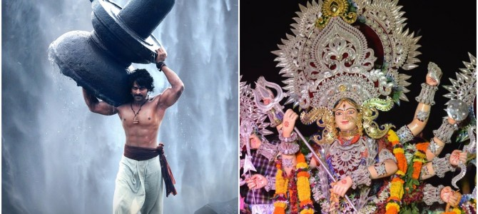 Old Station Bazaar Durga Puja Pandal to Feature Replica from Bahubali Movie