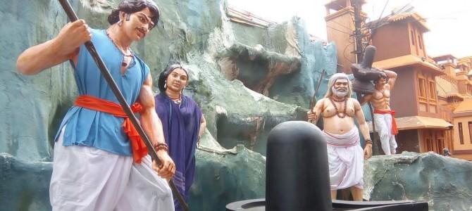 Visited the Bahubali Movie Themed Durga Puja Pandal in Bhubaneswar yet?