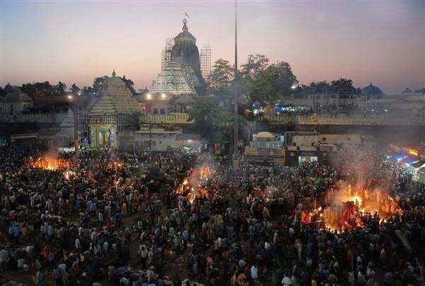 Deepabali diwali in puri jagannath temple bhubaneswar buzz