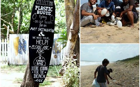 Designers of India Surf Festival plan enchanting sculptures made from washed ashore plastic trash