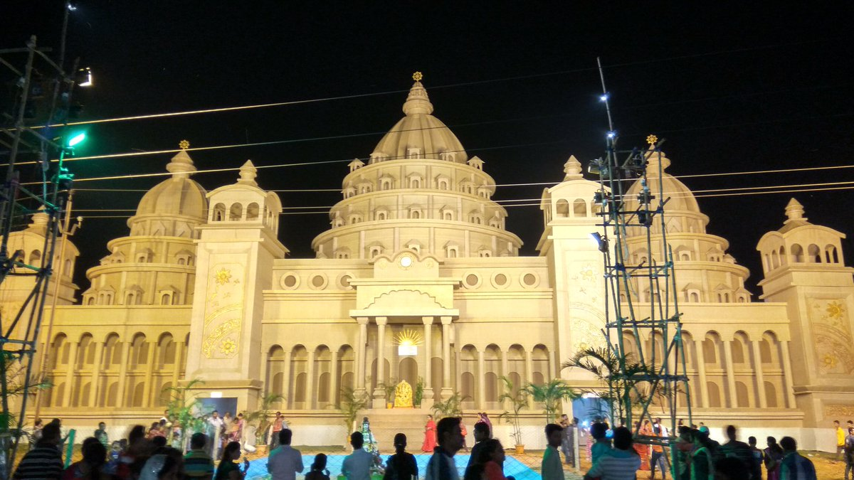A virtual tour of Rourkela Durga Puja Pandals via the lens