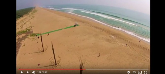 Don't miss this awesome Drone Video compilation of India Surf Festival by JustVish