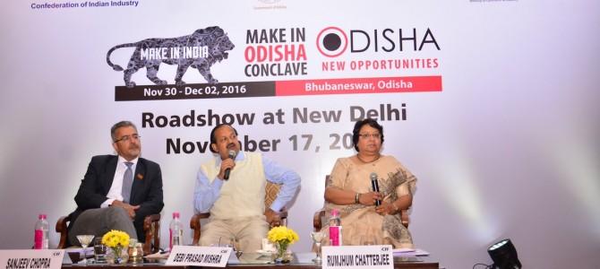 Make In Odisha Caravan Reaches Delhi For Its Final Leg Of Countrywide Roadshow