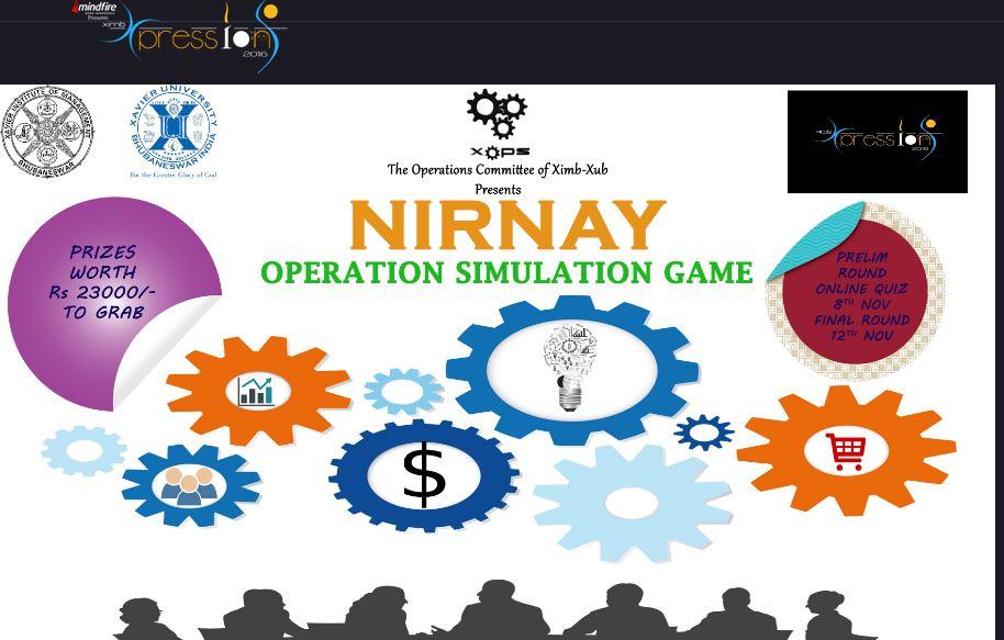 Nirnay business events ximb bhubaneswar buzz