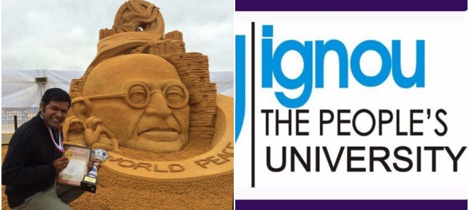 Sudarsan Pattnaik to guide IGNOU in designing certificate course on Sand Art
