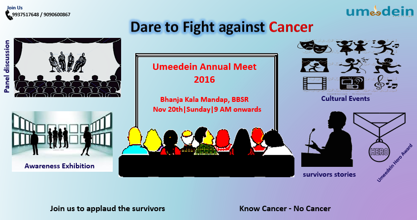 Umeedein fight against cance bhubaneswar buzz