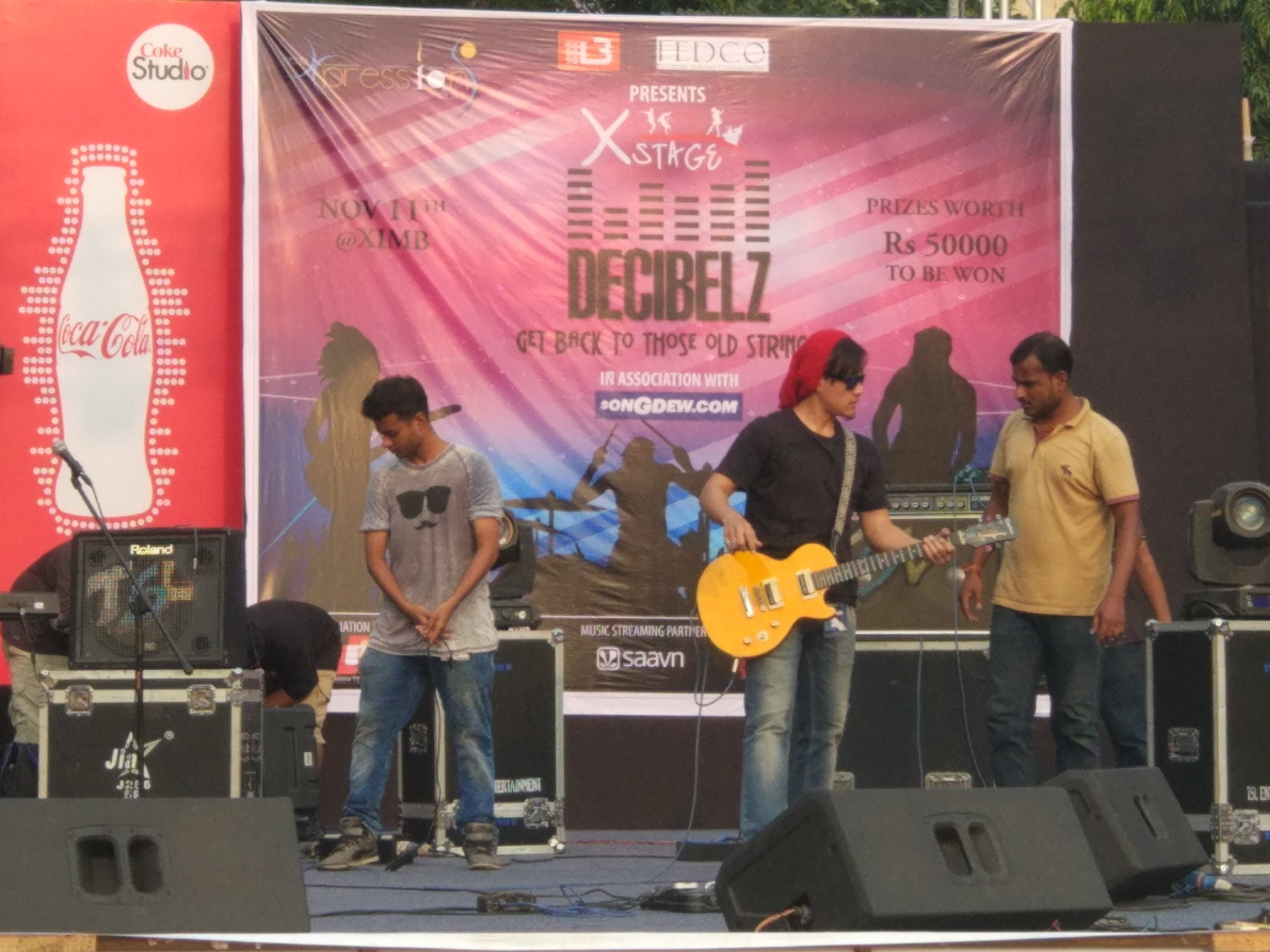 Xpressions XIMB Rock music competition bbsrbuzz 1